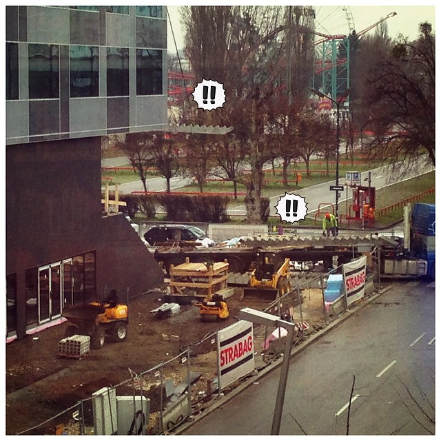 The D5 gets its stairs. ? #flyingstairs #exciting @wuvienna #wuwien