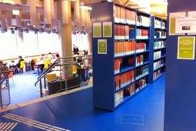 Bibliothek Recht in der Lernwoche