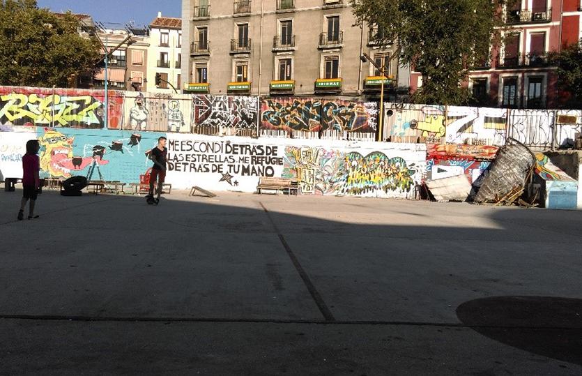"""""""Patio Maravillas"""" – autonomes Zentrum / besetztes Haus"""