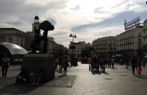 Puerta del Sol – Schauplatz der 15-M Bewegung