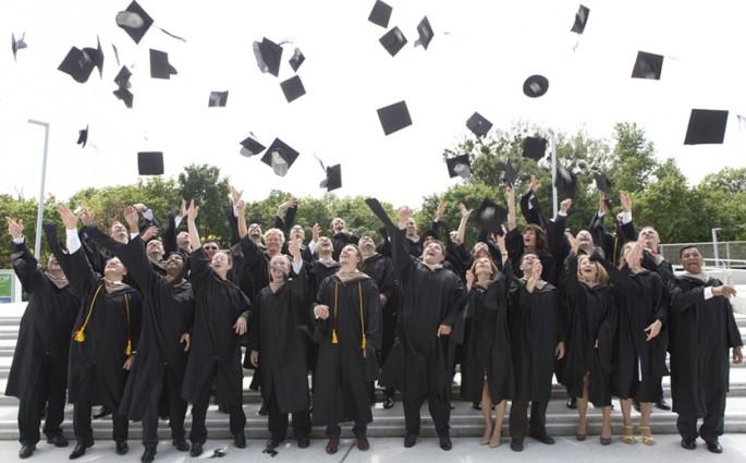 Graduierung der Global Executive MBA Klasse im Juni 2014