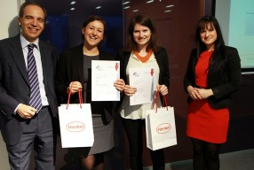 WU master's students win 1st, 2nd and 3rd place in Austrian semi-finals of the Henkel Innovation Challenge