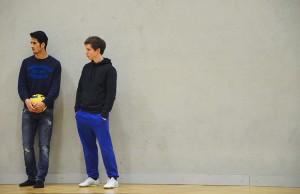 Farshad (links) und Christian (rechts)
