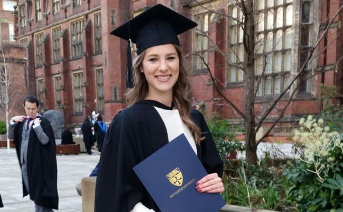 Graduation Julia Fischill