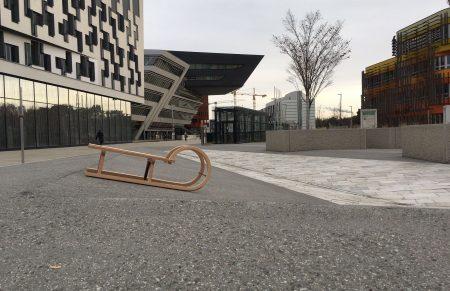 #WUnderland: Finde die Rodel am Campus WU
